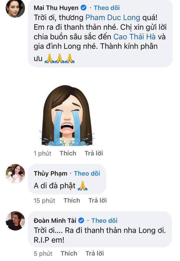 Cao Thái Hà, Lê Giang và dàn sao Việt bàng hoàng, xót xa khi nghe tin diễn viên Đức Long đột ngột qua đời - Ảnh 4.