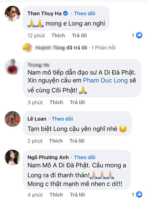 Cao Thái Hà, Lê Giang và dàn sao Việt bàng hoàng, xót xa khi nghe tin diễn viên Đức Long đột ngột qua đời - Ảnh 3.