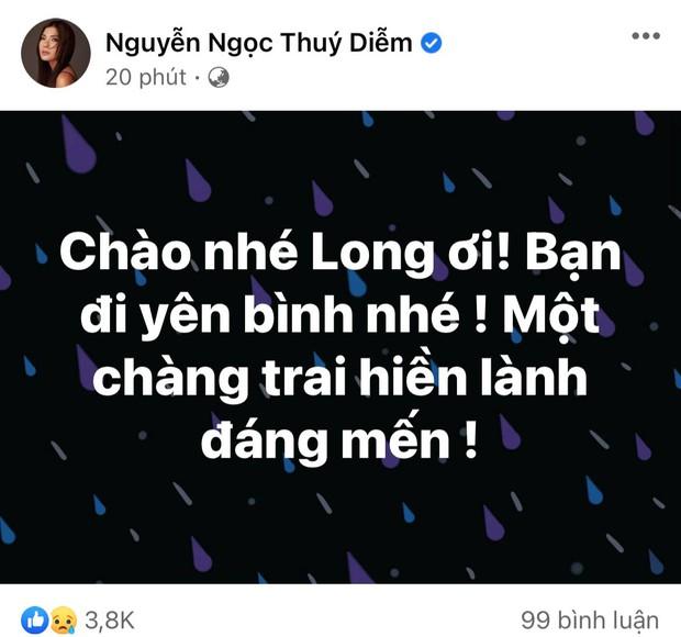 Cao Thái Hà, Lê Giang và dàn sao Việt bàng hoàng, xót xa khi nghe tin diễn viên Đức Long đột ngột qua đời - Ảnh 8.