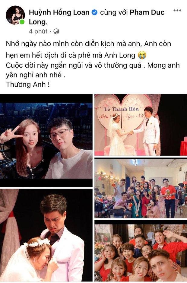 Cao Thái Hà, Lê Giang và dàn sao Việt bàng hoàng, xót xa khi nghe tin diễn viên Đức Long đột ngột qua đời - Ảnh 9.