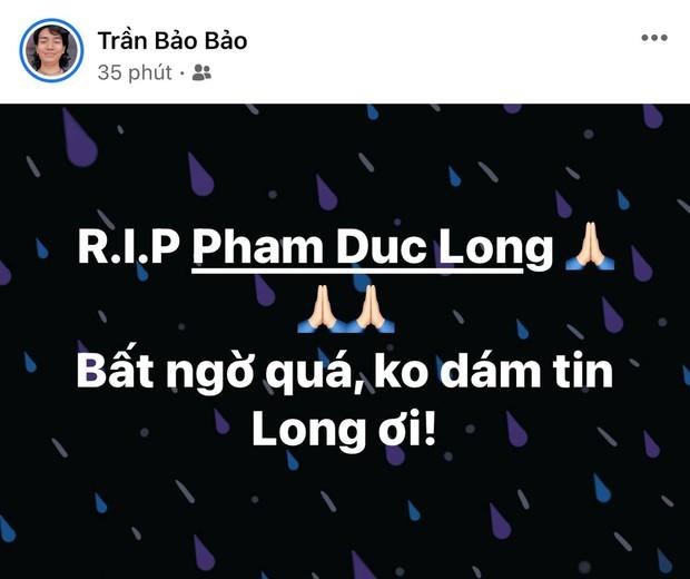Cao Thái Hà, Lê Giang và dàn sao Việt bàng hoàng, xót xa khi nghe tin diễn viên Đức Long đột ngột qua đời - Ảnh 14.