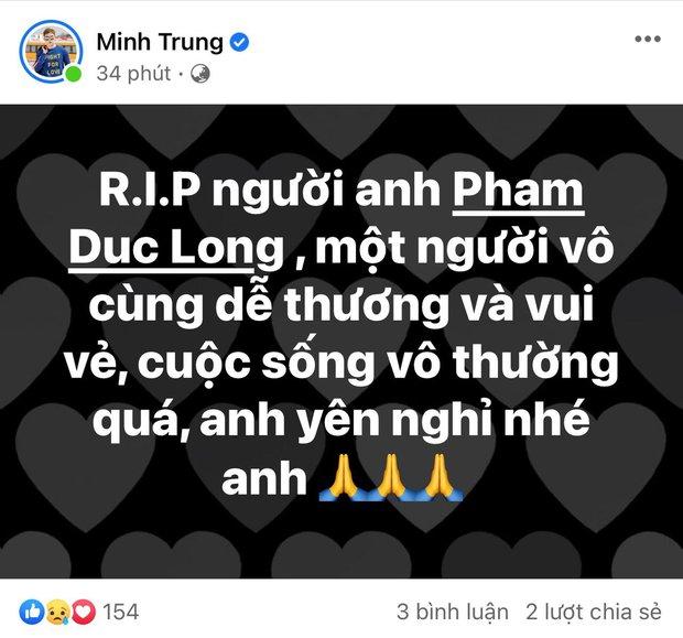 Cao Thái Hà, Lê Giang và dàn sao Việt bàng hoàng, xót xa khi nghe tin diễn viên Đức Long đột ngột qua đời - Ảnh 13.