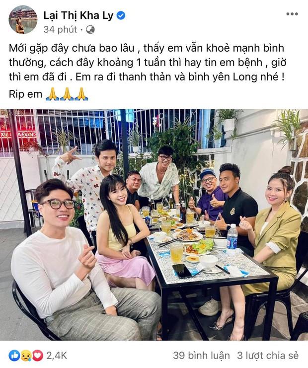 Cao Thái Hà, Lê Giang và dàn sao Việt bàng hoàng, xót xa khi nghe tin diễn viên Đức Long đột ngột qua đời - Ảnh 12.
