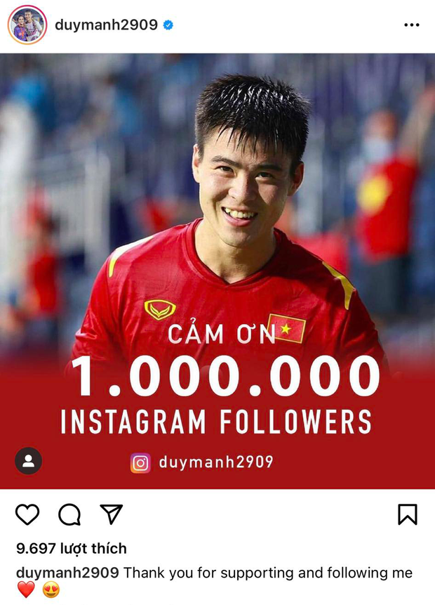 Duy Mạnh cán mốc 1 triệu follower trên Instagram, không quên gửi lời cảm ơn đậm chất Gen Z tới nóc nhà và con trai - Ảnh 3.