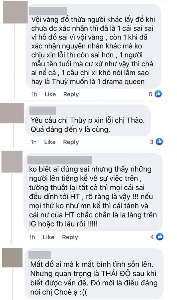 Netizen nhắn nhủ Hoàng Thùy: Trước đây fan chị bắt ê-kíp Miss Universe xin lỗi, giờ đến chị xin lỗi Lê Thanh Thảo đi chứ - Ảnh 4.