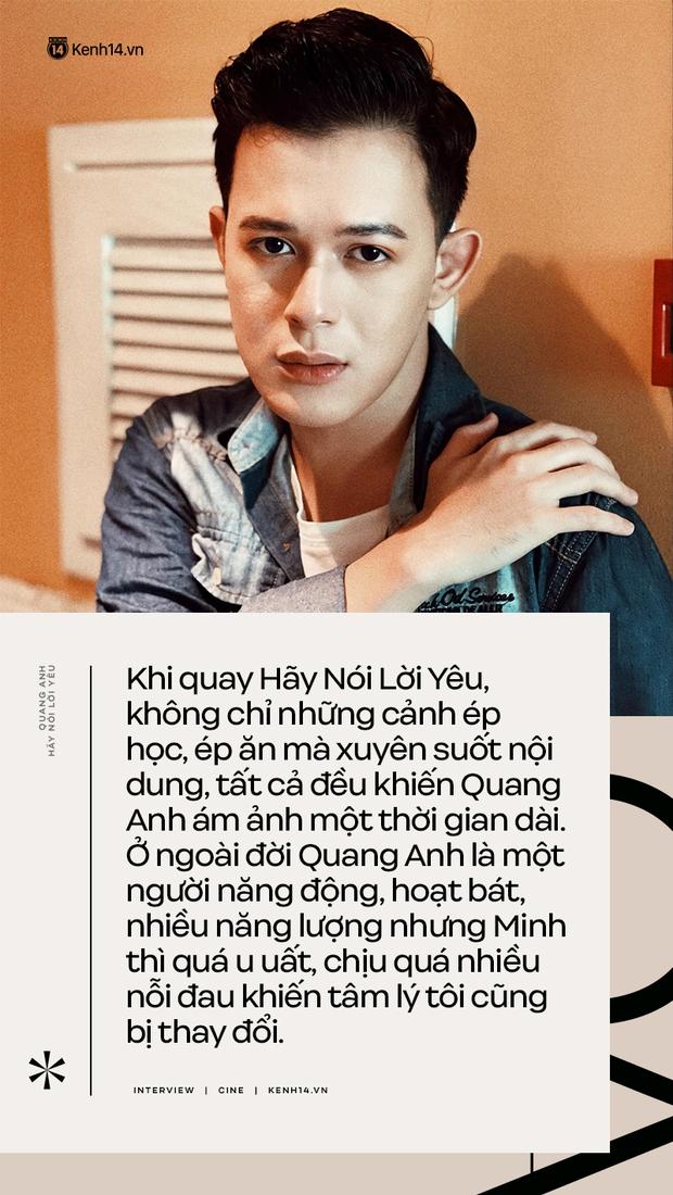 Quang Anh (Hãy Nói Lời Yêu): Cái chết của Minh là luật nhân quả, tôi không hề muốn thay đổi nó - Ảnh 7.