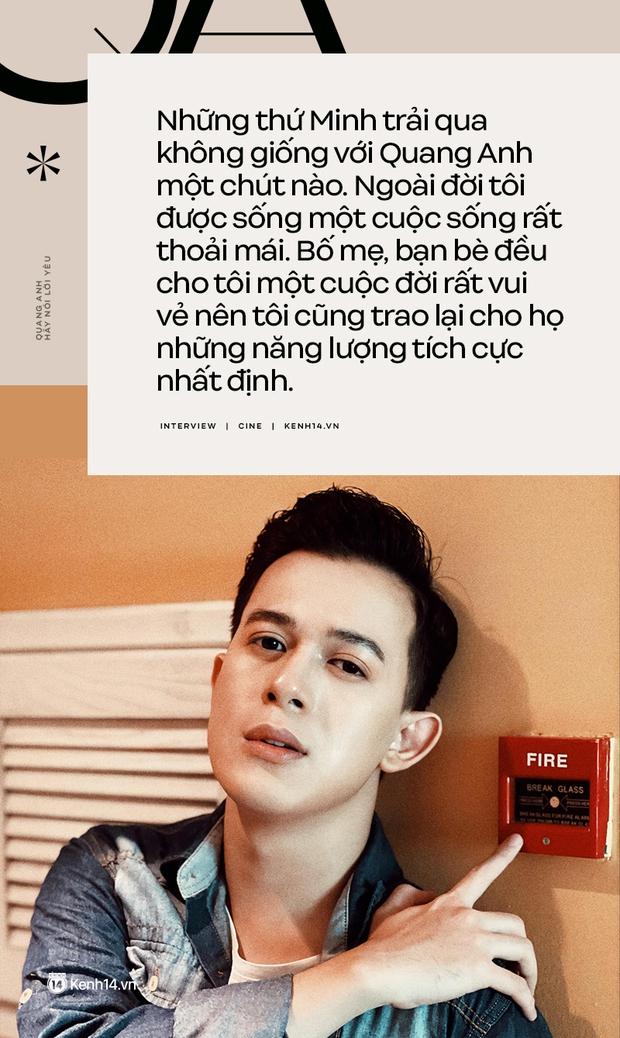 Quang Anh (Hãy Nói Lời Yêu): Cái chết của Minh là luật nhân quả, tôi không hề muốn thay đổi nó - Ảnh 8.