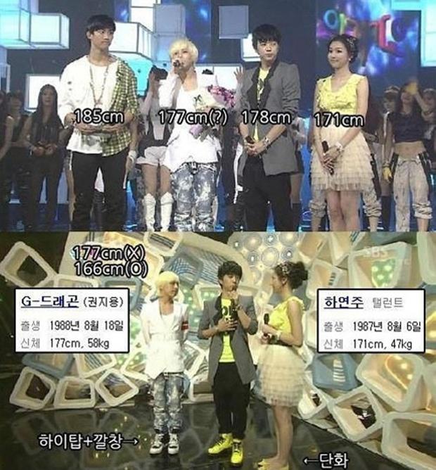 Sao châu Á khai gian chiều cao gây choáng: Song Song chưa sốc bằng G-Dragon và nam nghệ sĩ khai khống tận 10cm - Ảnh 14.