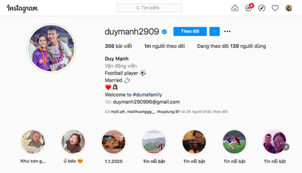 Duy Mạnh cán mốc 1 triệu follower trên Instagram, không quên gửi lời cảm ơn đậm chất Gen Z tới nóc nhà và con trai - Ảnh 2.