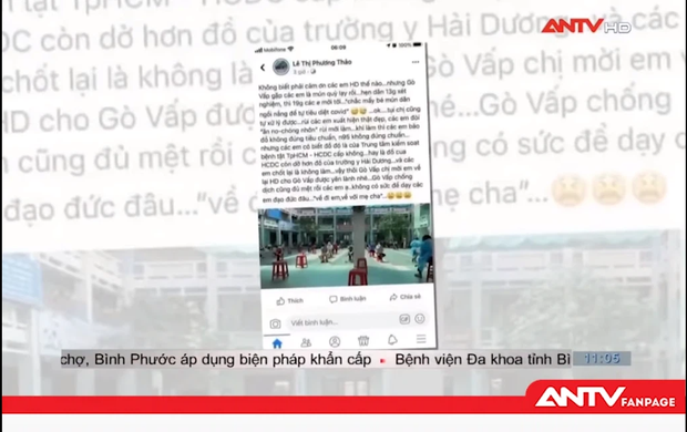 Truyền hình ANTV lên tiếng về status của Trác Thúy Miêu liên quan đoàn cán bộ, sinh viên Hải Dương chi viện TP.HCM chống dịch - Ảnh 2.