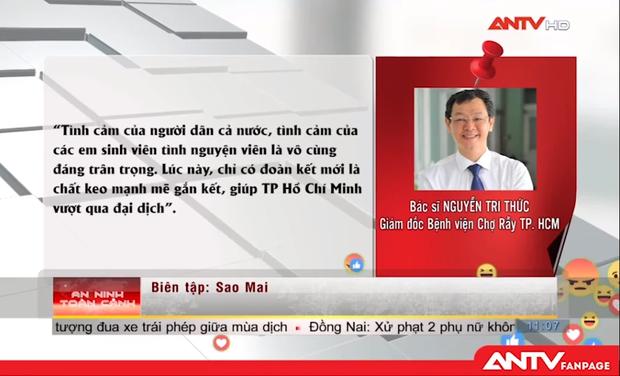 Truyền hình ANTV lên tiếng về status của Trác Thúy Miêu liên quan đoàn cán bộ, sinh viên Hải Dương chi viện TP.HCM chống dịch - Ảnh 7.