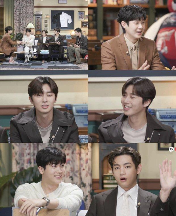 Fanmeeting quy tụ hội bạn nam thần hot nhất xứ Hàn: V (BTS) - Park Seo Joon visual như tạc, át luôn 2 tài tử Parasite và The Heirs - Ảnh 2.