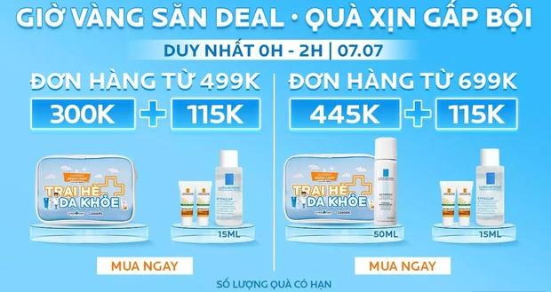 Mỹ phẩm chính hãng sale 7/7: MAC tung deal mua 2 son giảm 50%, kem chống nắng Anessa mua 1 tặng 1, nhiều hãng tặng quà xịn - Ảnh 16.