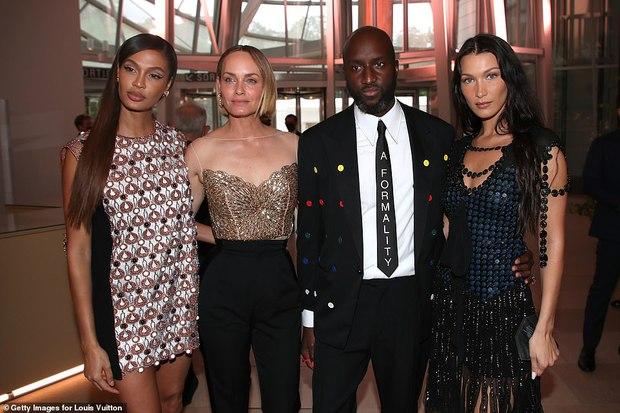 Dàn sao đổ bộ tiệc khủng của Louis Vuitton: Katy Perry - Orlando và vợ chồng Joe Jonas bị dìm toàn tập, Bella Hadid át cả dàn mẫu - Ảnh 10.
