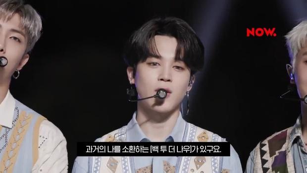 Tạo hình mới nhất của BTS trên sân khấu comeback: V hoá em bé, Jungkook bị dìm visual với tóc quả dừa hài hước - Ảnh 5.