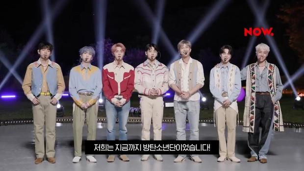 Tạo hình mới nhất của BTS trên sân khấu comeback: V hoá em bé, Jungkook bị dìm visual với tóc quả dừa hài hước - Ảnh 9.