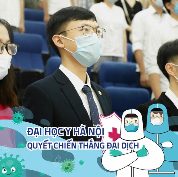 Xúc động thư tay sinh viên năm cuối Đại học Y Hà Nội xung phong vào tâm dịch Covid