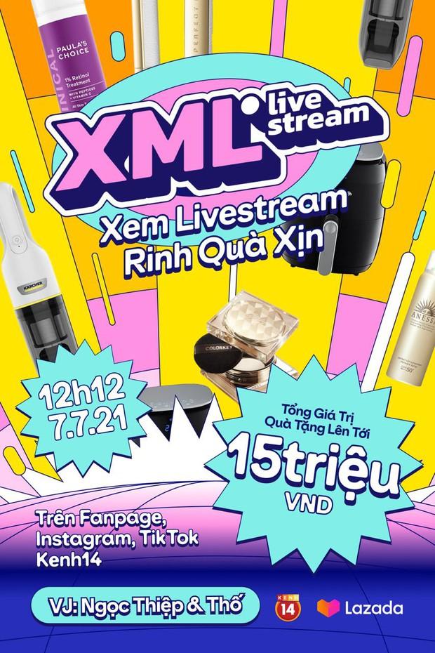 Hóng livestream rinh quà xịn 7/7: Chỉ việc xem livestream mà có cơ hội trúng đồ gia dụng, mỹ phẩm xịn xò - Ảnh 1.