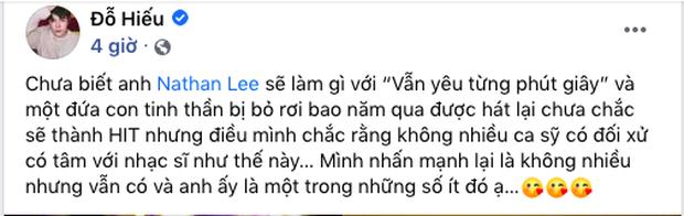 Đỗ Hiếu khẳng định không nhiều ca sĩ có tâm với nhạc sĩ như Nathan Lee, chê đứa con do Cao Thái Sơn thể hiện chết yểu - Ảnh 4.