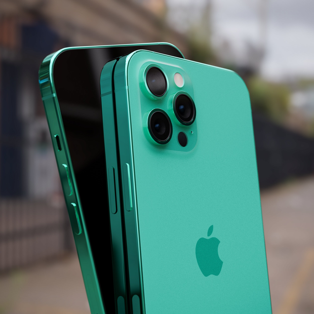 iPhone 13 xuất hiện trong bộ ảnh concept mới với phối màu chất đừng hỏi - Ảnh 4.