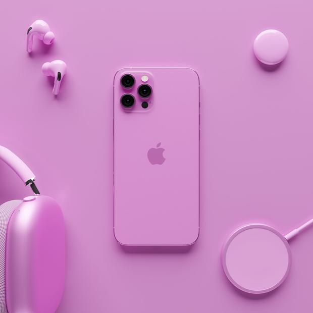 iPhone 13 xuất hiện trong bộ ảnh concept mới với phối màu chất đừng hỏi - Ảnh 2.