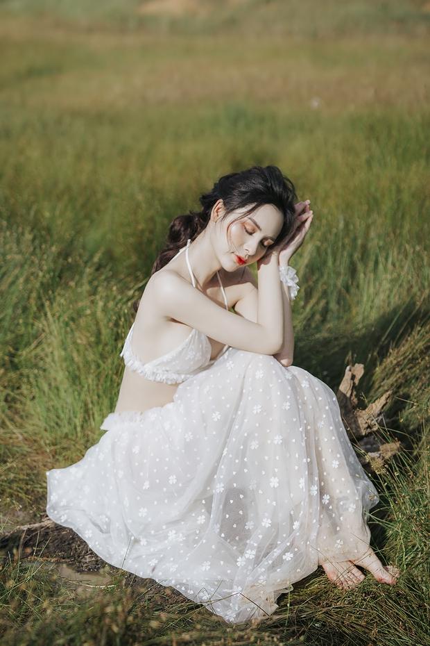 Người đẹp chuyển giới Tường Vi khoe vòng 1 căng tràn, làn da trắng nõn và vóc dáng nuột nà - Ảnh 4.