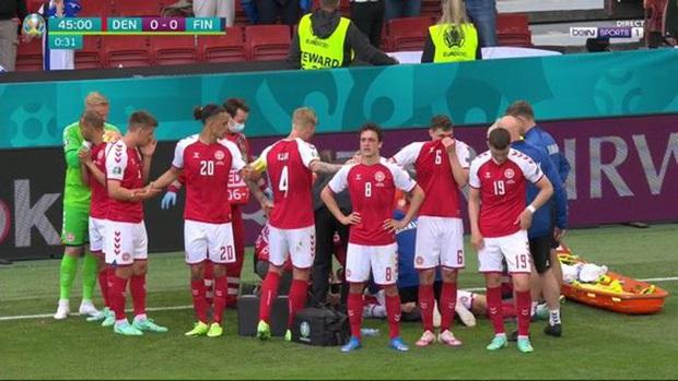 Eriksen cùng vợ và toàn bộ ê-kíp bác sĩ được mời tới dự khán chung kết Euro 2020 - Ảnh 2.