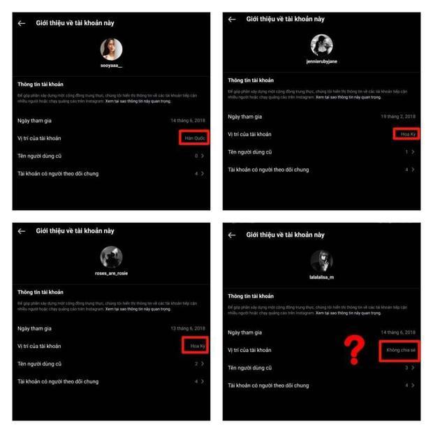 Netizen phát hiện tài khoản Instagram của Lisa (BLACKPINK) có điểm kỳ lạ, khác với Rosé, Jennie và Jisoo - Ảnh 2.