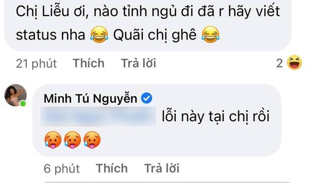 Minh Tú chúc mừng Phương Oanh Next Top nhưng nhanh chóng xin lỗi vì... sai tiếng Anh! - Ảnh 4.