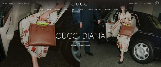 Phương Oanh Next Top là mẫu Việt đầu tiên lên website Gucci toàn cầu, câu cà khịa VNTM năm xưa bỗng được nhắc lại - Ảnh 1.