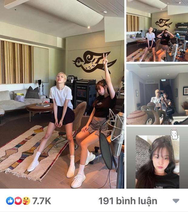 Jennie và Rosé đột kích phòng thu một producer từng kết hợp với Ariana Grande, Taylor Swift, ủ mưu màn collab khủng nào đây? - Ảnh 10.