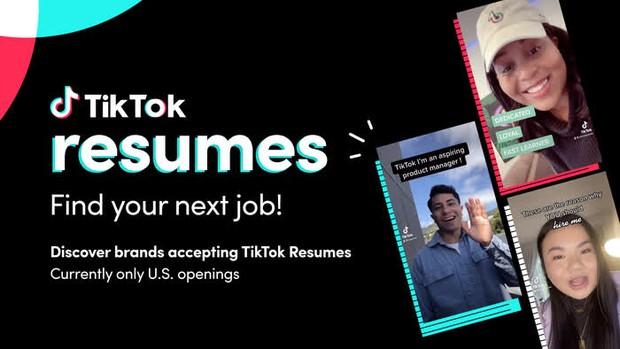 Tham vọng trở thành LinkedIn cho Gen Z, TikTok ra mắt tính năng mới giúp người dùng tìm việc bằng video - Ảnh 2.
