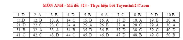 Đáp án đề thi môn Tiếng Anh tốt nghiệp THPT 2021 tất cả các mã đề - Ảnh 24.