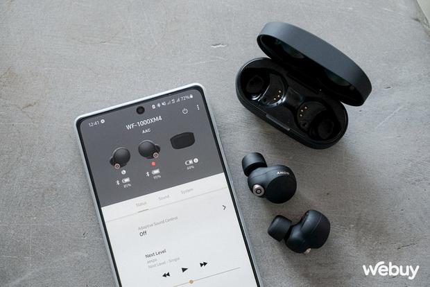 Đánh giá Sony WF-1000XM4: Chống ồn, chất âm và thiết kế cải tiến là vậy nhưng có xứng đáng với giá 6.5 triệu? - Ảnh 11.