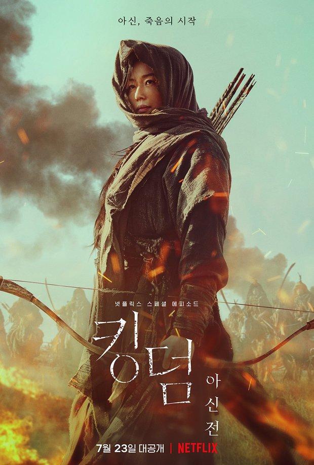 Jeon Ji Hyun hắc hóa, gieo rắc dịch zombie làm cỏ cả Joseon ở trailer Kingdom: Ashin Of The North - Ảnh 8.