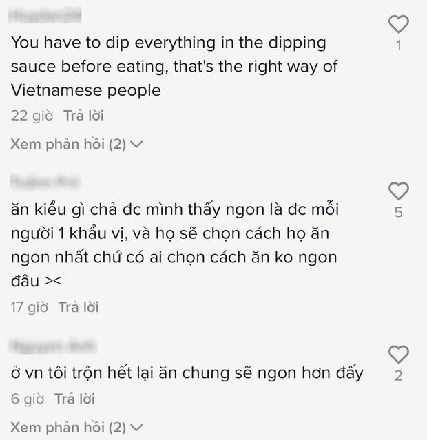 Gái Tây gây tranh cãi dữ dội chỉ vì cách ăn bún chả khác người, dân mạng Việt đồng loạt bênh vực: Người ta thấy ngon là được! - Ảnh 3.