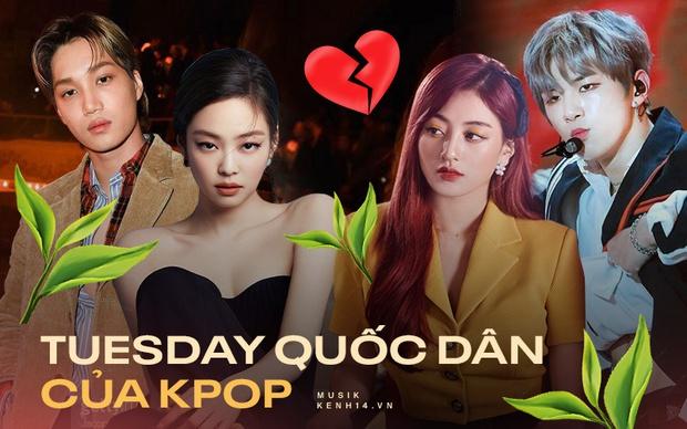Xuất hiện Tuesday quốc dân: Nguyên nhân chia tay của Jennie - Kai, Heechul - Momo và loạt cặp đôi idol khác - Ảnh 2.