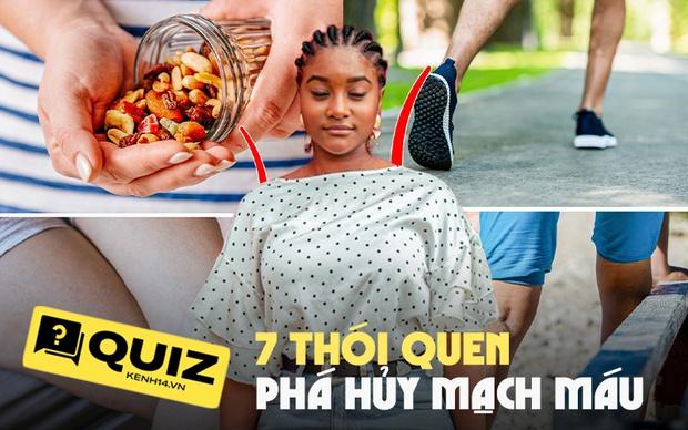 Quiz: 7 thói quen hàng ngày có thể đang phá hủy mạch máu của bạn, sửa ngay kẻo vừa xấu người, vừa hại thân - Ảnh 1.