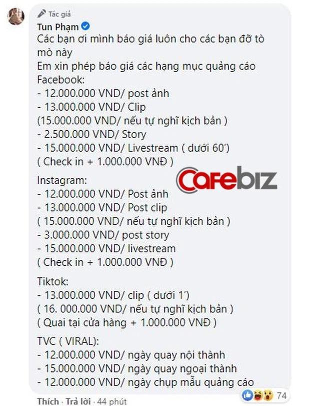 Tun Phạm kiếm được hơn 100 triệu/ tuần, còn thu nhập của các TikToker khác thì sao? - Ảnh 3.