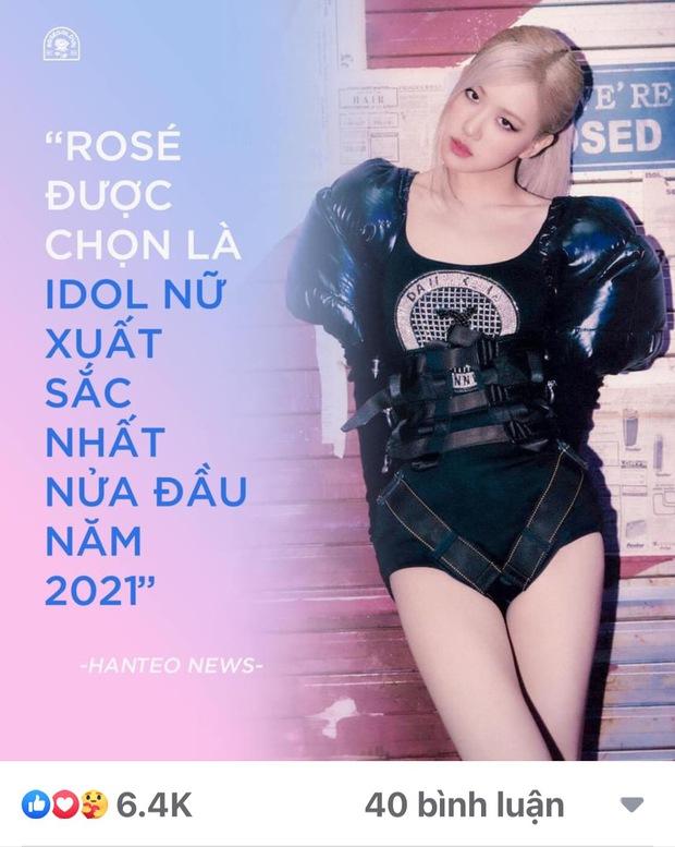 Không cần đến BLACKPINK nữa rồi, một mình Rosé tự tin chặt đẹp TWICE, ITZY, aespa, trở thành nữ idol đỉnh nhất Kpop - Ảnh 6.