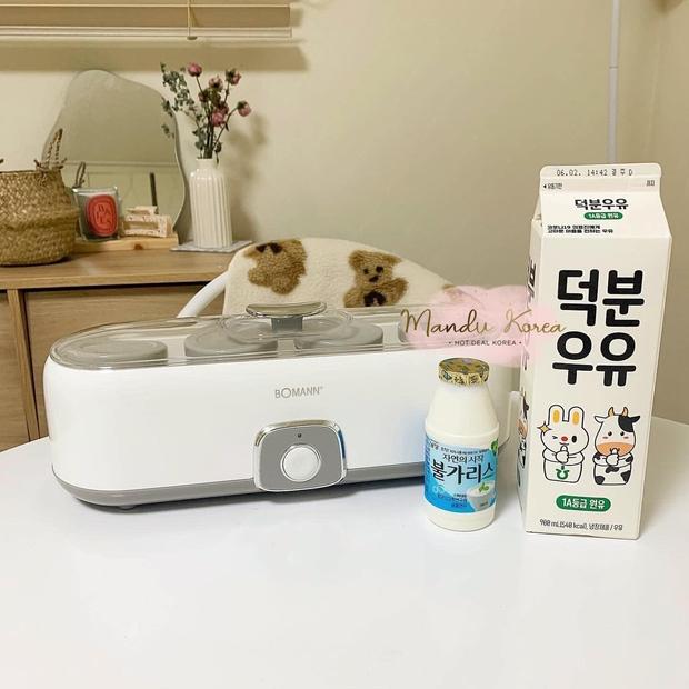 Ở nhà tránh dịch tậu máy làm sữa chua là chuẩn, giá rẻ mà siêu dễ dùng, thành phẩm bao ngon - Ảnh 15.