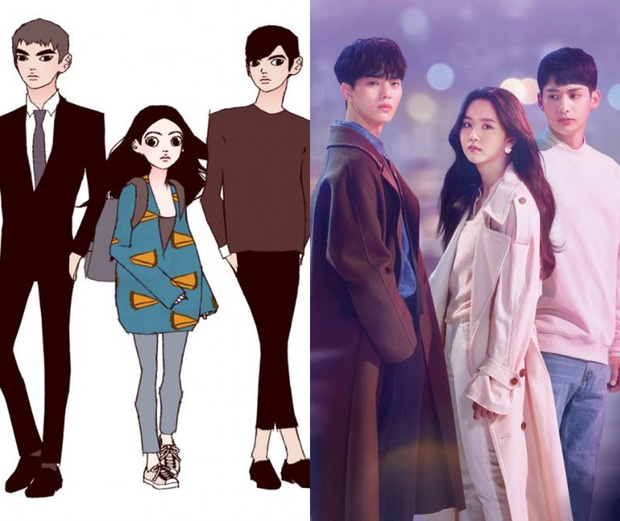 Tạo hình nhân vật loạt phim Hàn hot so với webtoon: Nevertheless ổn đấy nhưng chưa đỉnh bằng Tầng Lớp Itaewon - Ảnh 2.