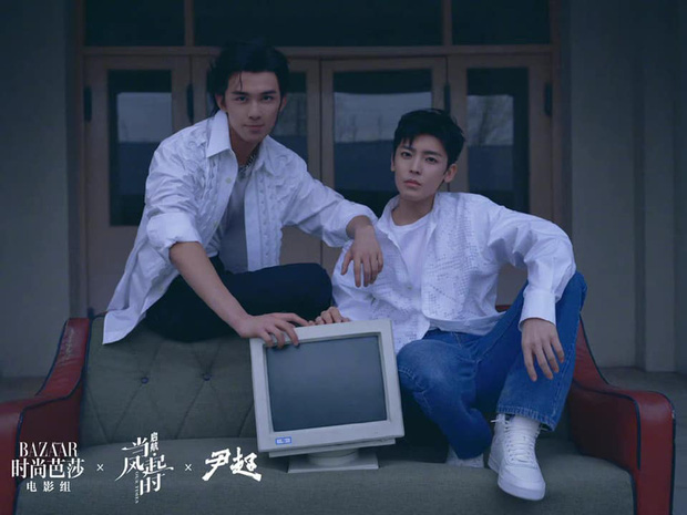 Ngô Lỗi đọ visual cực cháy cạnh cựu TTS nhà SM ở phim mới, fan bất ngờ đòi hai anh lấy nhau gấp vì một cảnh quá nên thơ - Ảnh 1.