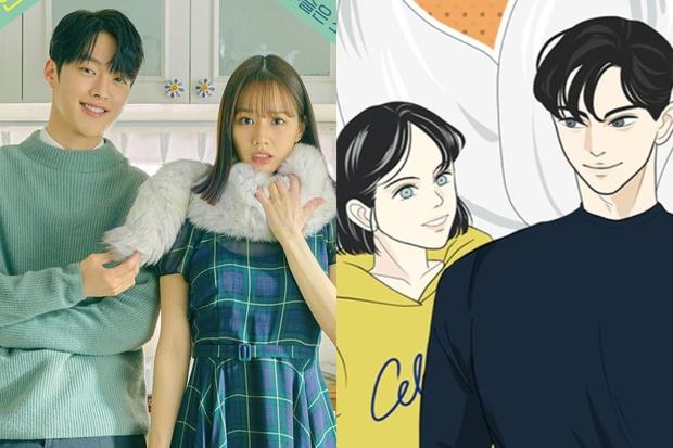 Tạo hình nhân vật loạt phim Hàn hot so với webtoon: Nevertheless ổn đấy nhưng chưa đỉnh bằng Tầng Lớp Itaewon - Ảnh 3.
