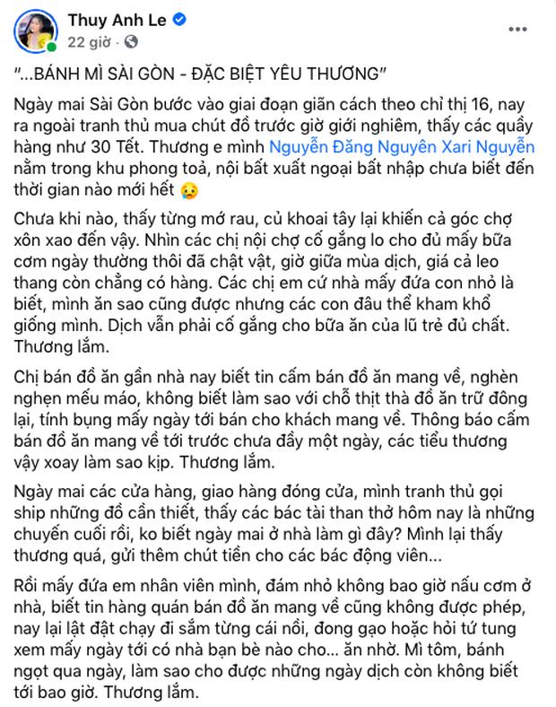 Dàn sao gửi tâm thư cho Sài Gòn ngày đầu giãn cách: Vũ Khắc Tiệp, Quang Hà nhớ ký ức năm xưa, Đỗ Thị Hà - Ngô Thanh Vân cổ vũ tinh thần từ xa - Ảnh 5.