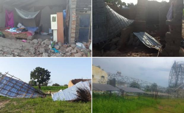 Bão lớn hoành hành ở Gambia khiến 10 người thiệt mạng, hàng nghìn người phải sơ tán - Ảnh 1.