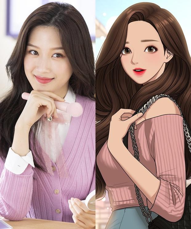 Tạo hình nhân vật loạt phim Hàn hot so với webtoon: Nevertheless ổn đấy nhưng chưa đỉnh bằng Tầng Lớp Itaewon - Ảnh 5.