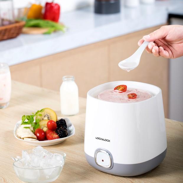 Ở nhà tránh dịch tậu máy làm sữa chua là chuẩn, giá rẻ mà siêu dễ dùng, thành phẩm bao ngon - Ảnh 7.