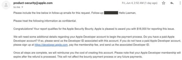 Tìm ra cách chiếm đoạt iCloud, nhưng cách hành xử của Apple khiến hacker này chán nản bỏ cả 18.000 USD tiền thưởng - Ảnh 11.