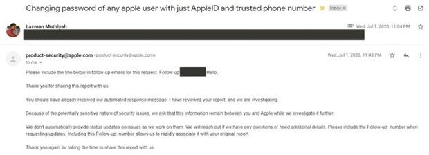 Tìm ra cách chiếm đoạt iCloud, nhưng cách hành xử của Apple khiến hacker này chán nản bỏ cả 18.000 USD tiền thưởng - Ảnh 4.